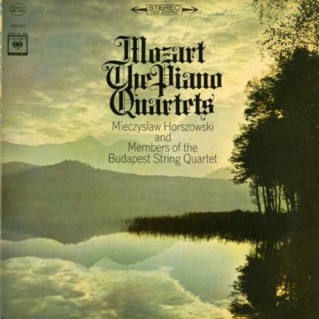 US COLUMBIA MS6683 ホルショフスキ&ブダペスト弦楽四重奏団員 モーツァルト・ピアノ四重奏曲1、2番