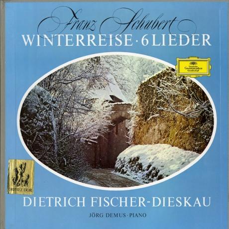 DE DGG 139 201/02 フィッシャー=ディースカウ シューベルト・歌曲集「冬の旅」