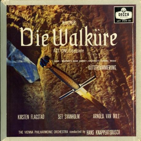 GB DECCA LXT5429-30 ハンス・クナッパーツブッシュ ワーグナー・ワルキューレ/第一幕(全曲)